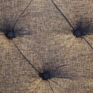 Detail shot of textured grey fabric