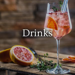 Drinks - View menu