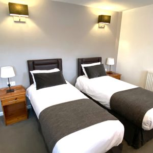 One of our twin ensuite rooms