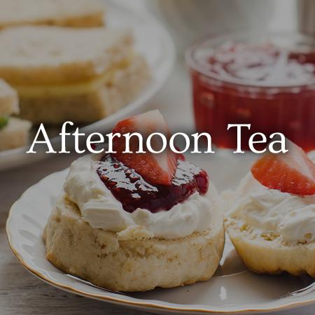 Afternoon Tea - view menu now