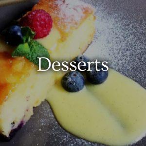 Desserts - view menu now
