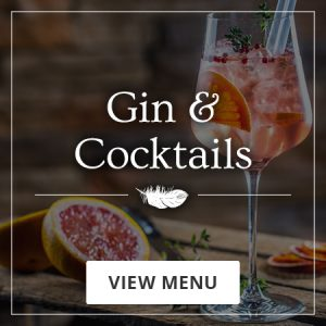 Gin and cocktails - view menu now
