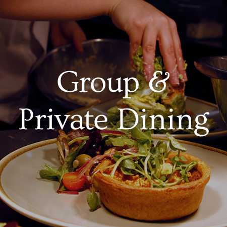 Group and Private Dining - view menu now