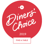 Diners Choice Award 2019 - Find a Table